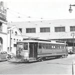 Streetcar Departing Transbay Hump (1949)