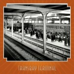 Transbay Terminal Train Platforms, 1939