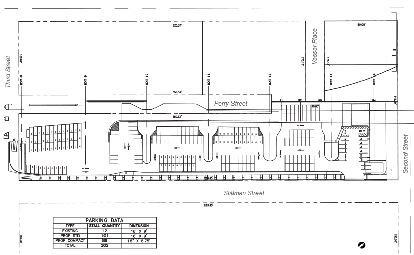 Figure 2-18: AC Transit Bus Storage Facility – Nighttime and Event Valet Parking
