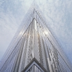 James Carpenter: Seven World Trade Center, Exterior – Podium Light Wall, 2002-07